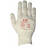 White Nylon Glove - Pair Image