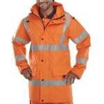 Hi-Vis Breathable Unlined Anorak Orange  Image