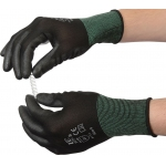 PCP Palm PU Coated Black Glove  Image