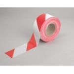 Red & White Polythene Barrier Tape Image