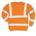 Hi-Vis Orange Sweatshirt  Image