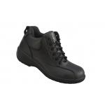 Ladies Black S3 Leather Boot  Image