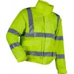 Microflex Hi-Vis Winter Rain Bomber Jacket Yellow Image