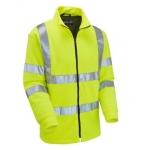 EN471 Class 3 Fleece Jacket Yellow Image