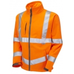 EN471 Class 3 Softshell Jacket Orange Image