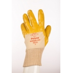 Light Duty Nitrile Coated Glove with Cotton Interlock Liner Image