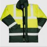 Yellow/Green Hi Vis Coat  Image