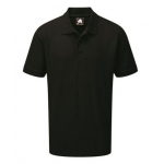 Next Black Wicking Poloshirt with Next Distribution Embroidery Image