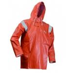 Orange Heavy weight Oil Resistant Waterproof Anorak Image