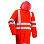 Microflex Hi Vis Rain Jacket Orange  Image
