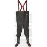 Black Heavy Duty Chest Wader Image