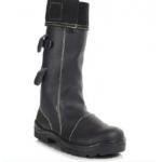 High Leg Foundry Boot Black Image