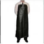 Black PVC Heavyweight Bib Apron 48x36 Image