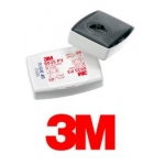 3M 6038 P3SL Encapsulated Particulate Filters - pack 2 Image