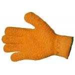 Premium Yellow Criss-Cross Glove Mens - Pair Image