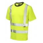 EN471 Short Sleeved T-Shirt Hi Vis Yellow Image