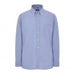 Oxford Long Sleeve Disley Shirt Blue  Image