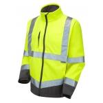 EN471 Class 3 Softshell Jacket Yellow Image