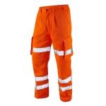 EN471 Class 1 Polycotton Cargo Trousers Orange Image