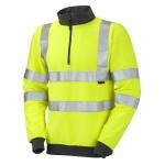 EN471 Class 3 Sweatshirt Yellow Image