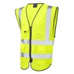 EN471 Class 2 Executive Waistcoat Yellow Image