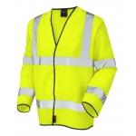 EN471 Class 3 Long Sleeve Waistcoat Yellow Image