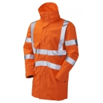 EN471 Class 3 Breathable Executive Anorak Orange Image