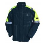 Flame Retardant Navy/Yellow Work Jacket Image