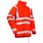 Microflex Stud-Free Hi Vis Winter Rain Jacket Image