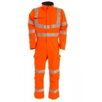 Orange inherent FR/AS ENISO/RIS-3279-TOM ISS 1, non metal coverall  Image