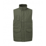 Polycotton Gilet With Quilted Lining Image