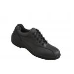 Ladies Lace Up Black Shoe S3 Image