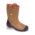 Grizzly Tan S3 C1 Fleece Lined Rigger Boot Image