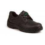 Black Leather Basic Safety Shoe SBP Image