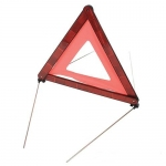 Reflective Road Safety Triangle Image