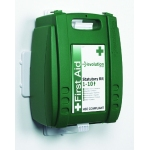 Evolution 1-10 Person First Aid Kit with Wall Bracket Image